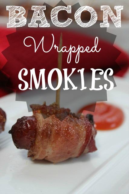 Bacon Wrapped Smokies Appetizer Recipe