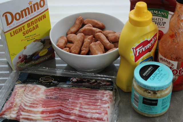 Bacon Wrapped Smokies Ingredients