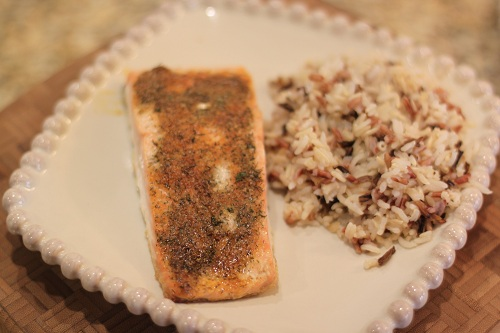 Baked Crusted Salmon Recipe Dinner