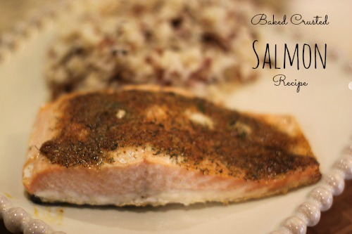 Baked Crusted Salmon Recipe from McCormicks