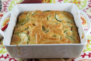 Baked Zucchini Pie