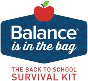Balance Bar Back to School Survival Kit