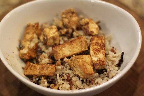 Balsamic Honey Mustard Marinade Tofu Recipe