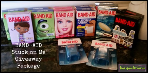 Band Aid Giveaway Package via Bargainbriana