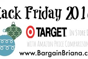 Target Black Friday Ad 2016