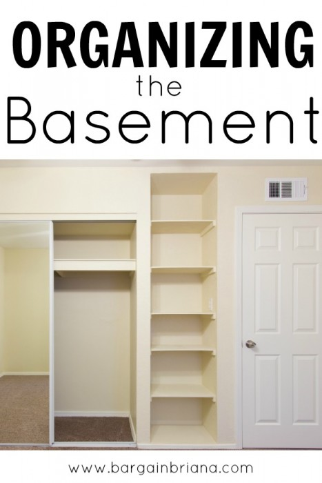 Basement Organization Tips