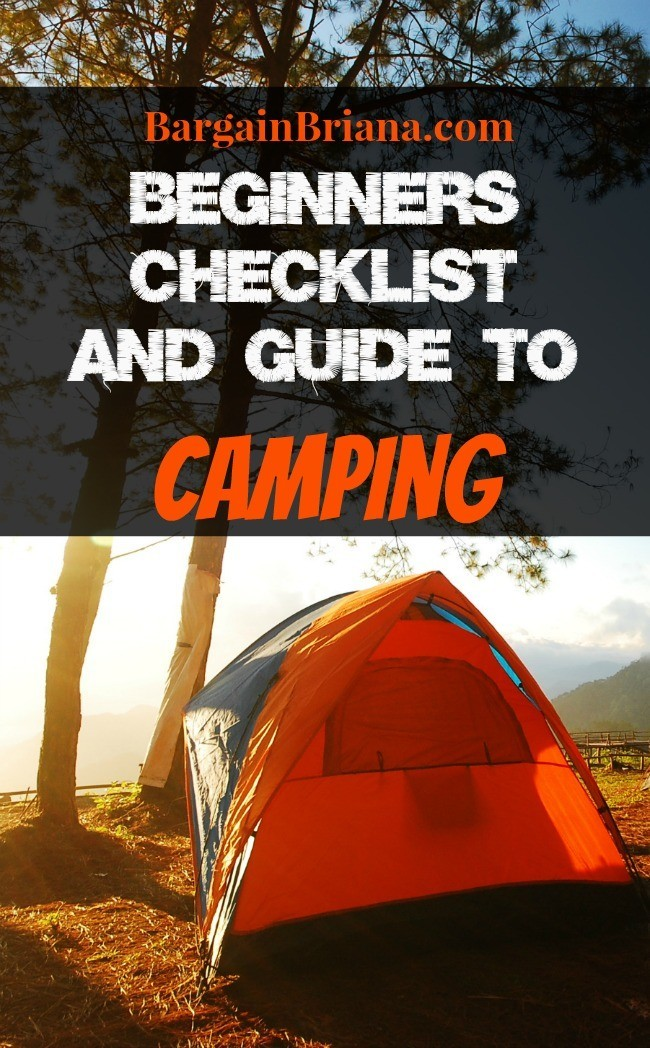 Beginners Checklist and Guide to Camping