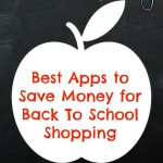 Best Apps to Save Money for Back To School Shopping