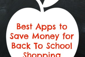 Best Apps to Save Money for Back To School Shopping #VZWBuzz