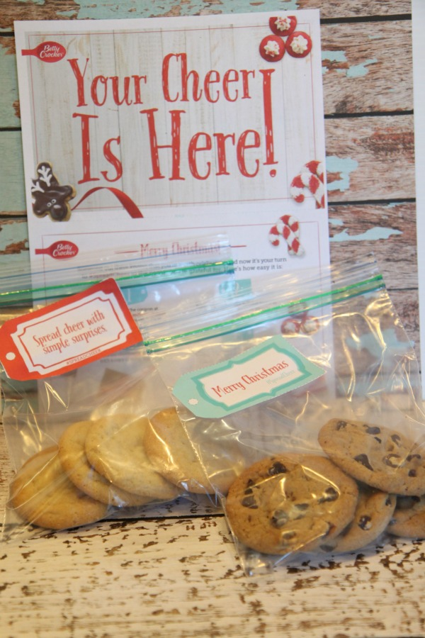 Betty Crocker Cookies Spread Cheer