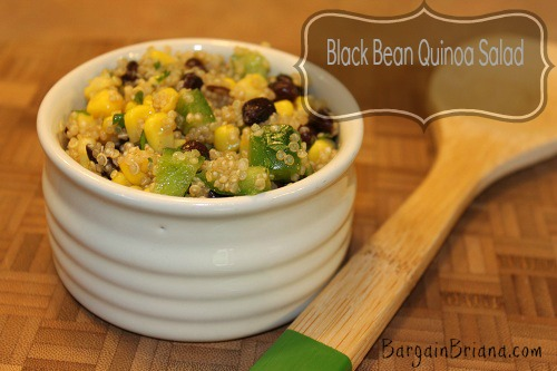 Black Bean Quinoa Salad Black Bean Quinoa Salad