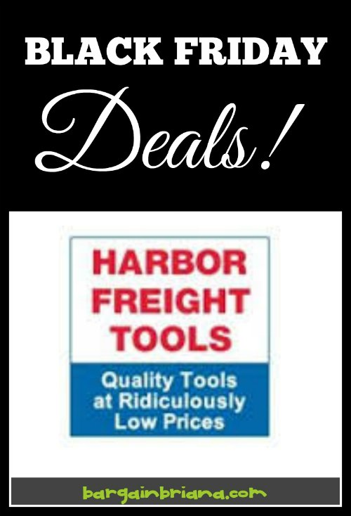 Black Friday Harbor Freight Tools Ad Preview