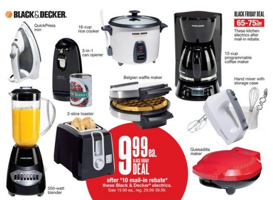 Black friday kohls small appliance deal