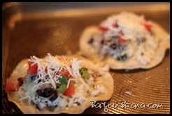 Black Bean Lime Tostadas