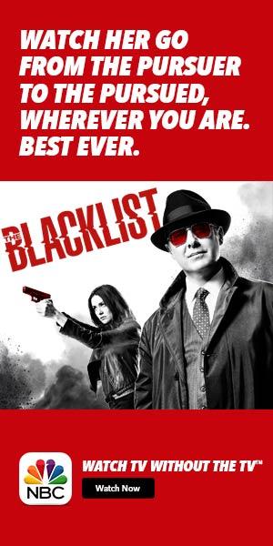 Blacklist on TVEverywhere App