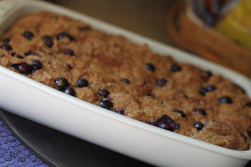 Blueberry French Toast Baked Recipe