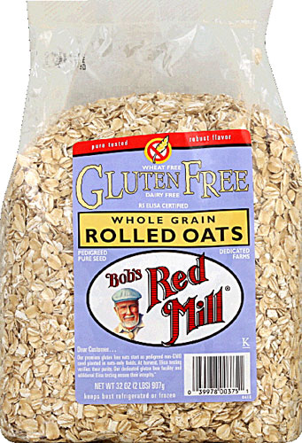 Are whole grain oats gluten free