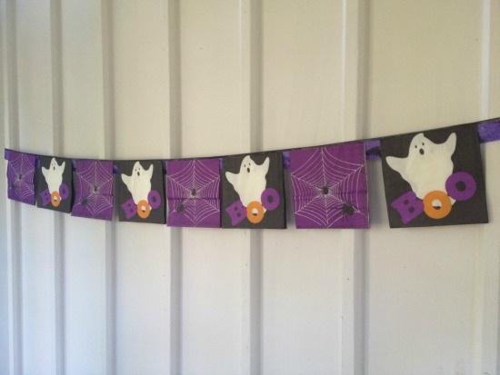 Boo-tiful Bunting Banner
