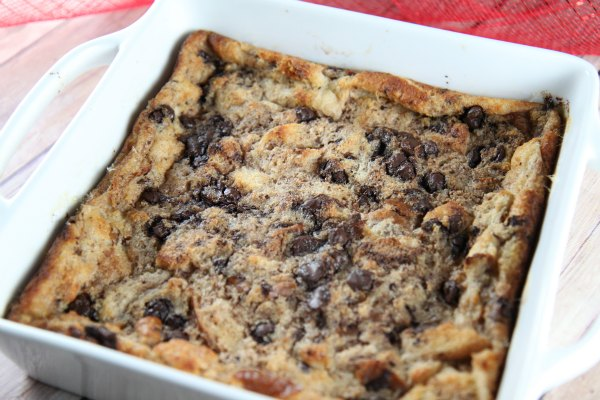 Bread Pudding made with DairyPure Milk