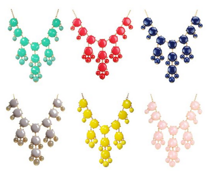 Bubble Necklaces Bubble Necklaces as low as $13.49 shipped!