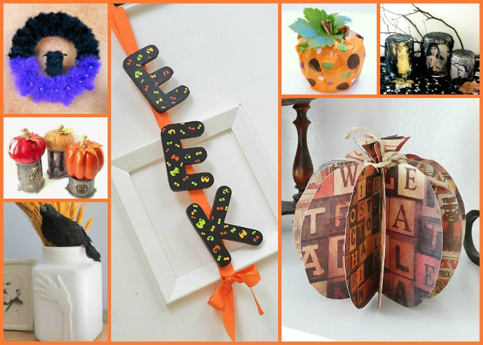 Budget DIY Decorations To Make for Less than 5 dollars for halloween