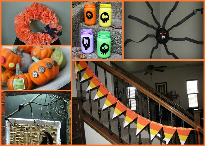 Budget DIY Decorations for Halloween