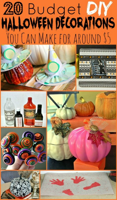20 Budget DIY Halloween Decorations