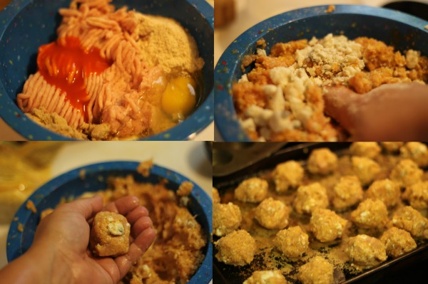 Buffalo Chicken Meatball Recipe