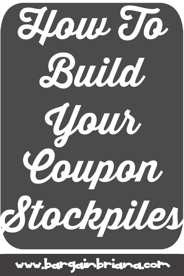 Building a Coupon Stockpile - learn to coupon 101