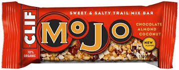 CLIF Mojo Sweet & Salty Bars dark chocolate almond coconut