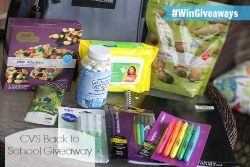 CVS/pharmacy Back to School Supplies & Snacks | {Back to School Giveaway} #WinGiveaways