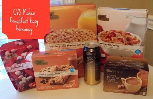 CVS Breakfast Giveaway CVS/Pharmacy Breakfast & Snack Giveaway