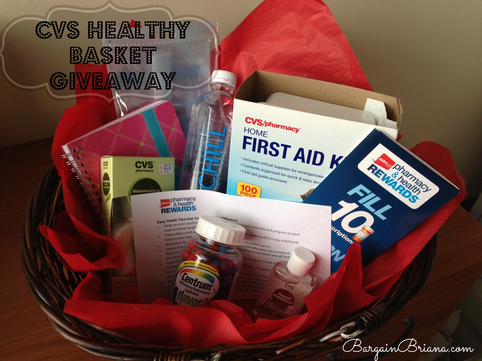 CVS Healthy Basket Giveaway