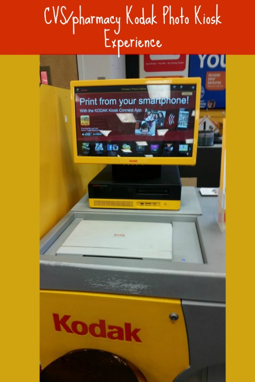 CVS Kodak Photo Kiosk Experience