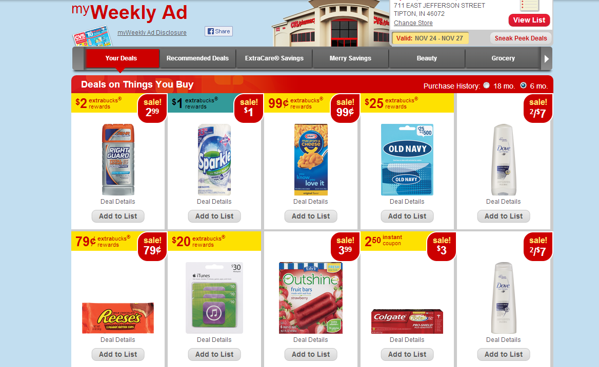 CVS My Weekly Ad