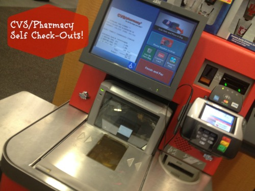 CVS Self Check Out Lanes
