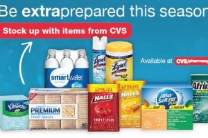 Be Extra Prepared this season with CVS :: Spend $15, Get $5 Extra Bucks