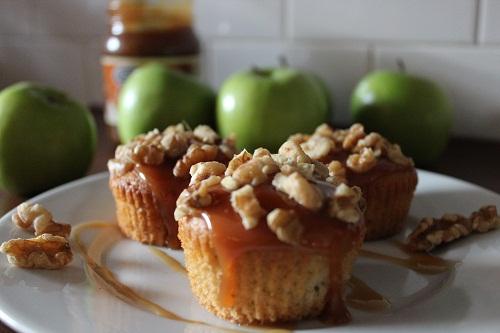 Caramel Apple Cupcakes Fall Recipe