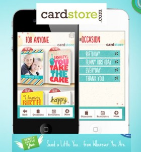 Cardstore App banner 280x300 Cardstore.com: Free App for iPhone