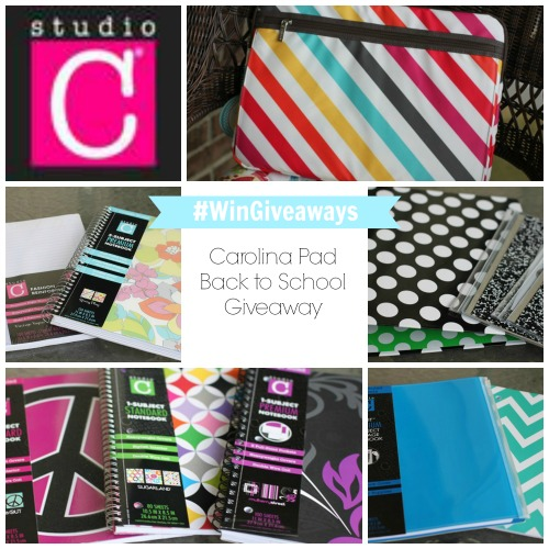 Carolina Pad Back to School Giveaway