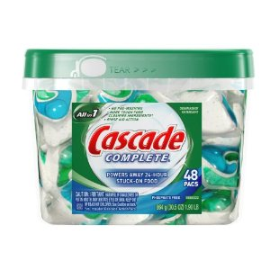 Cascade Complete Pacs (48 ct) for $10.02 Shipped
