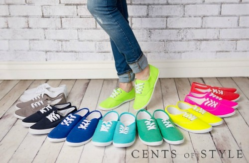 Cents of Style Canvas Sneakers Deal
