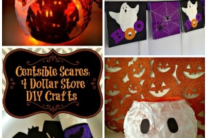 Centsible Scares: 4 Dollar Store DIY Crafts
