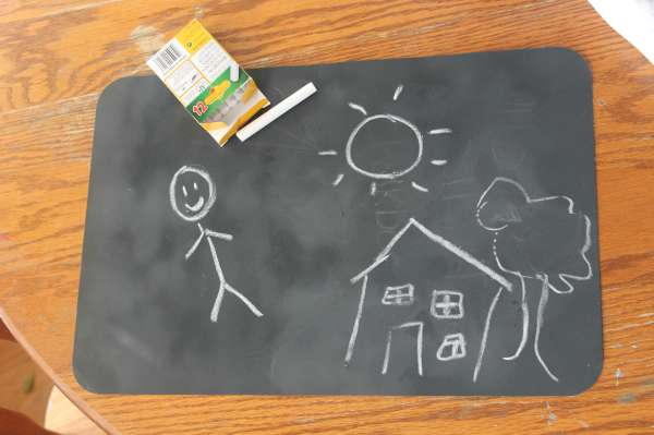 Chalkboard Placemat