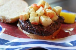 How to Plan the Perfect 4th of July Party | Chesapeake Crab Burger Recipe