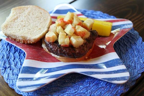 Chesapeake Crab Burger Recipe - for fourth of july