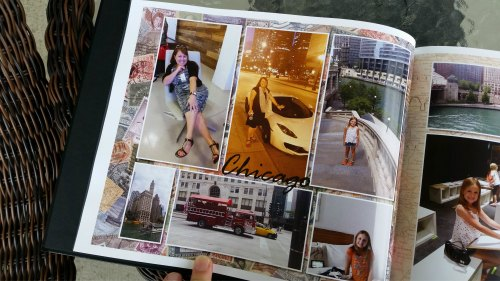 Chicago Trip in Photo Book