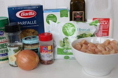 Chicken Broccoli Ingredients