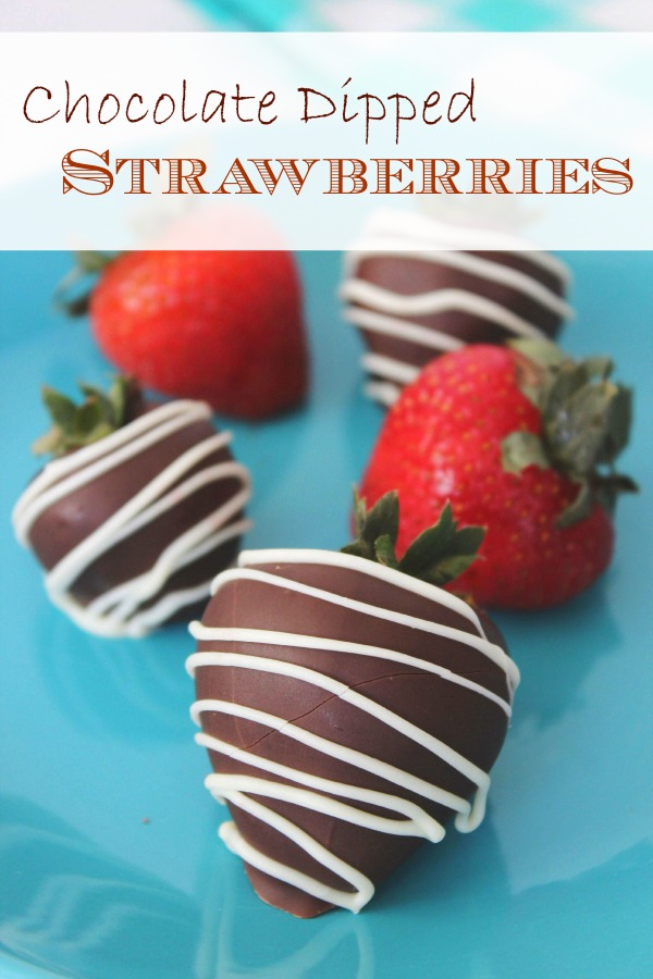 How to Make Chocolate Dipped Strawberries - BargainBriana