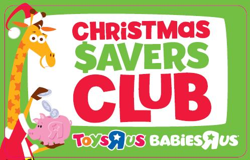"Toys ""R"" Us Christmas Savers Club"